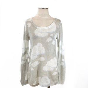 LC Lauren Conrad- Gray Cloud Lightweight Sweater S